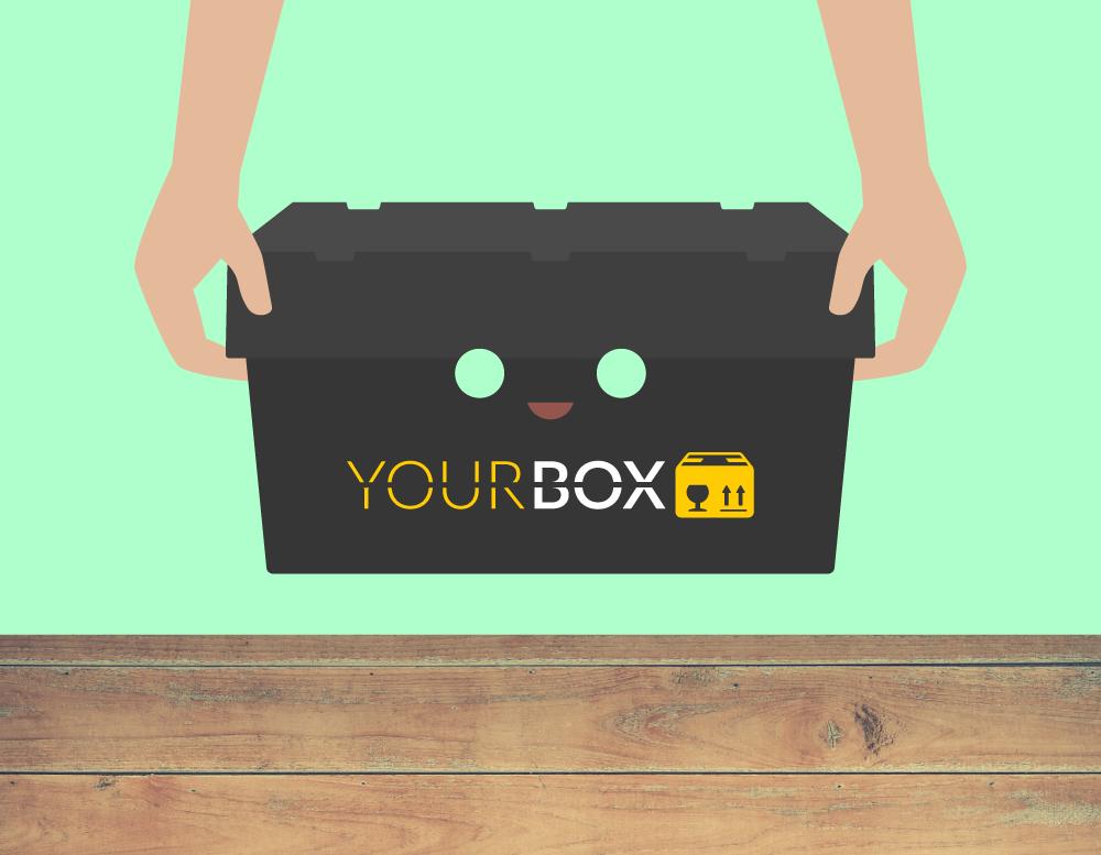 YOUR BOX Umzugsbox